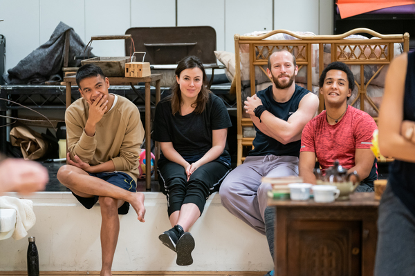 Photo Flash: Inside Rehearsal For THE OCEAN AT THE END OF THE LANE at the National Theatre
