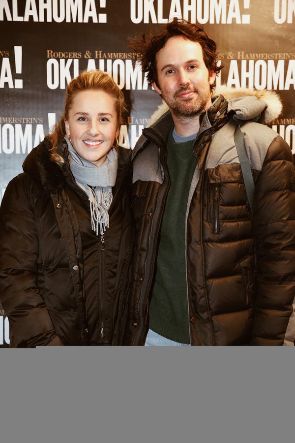 Photo Flash: Jeanna de Waal and Neil deGrasse Tyson Visit OKLAHOMA!