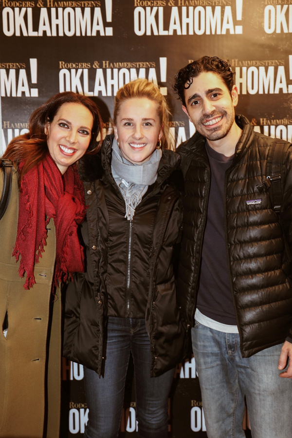 Mallory Portnoy, Jeanna de Waal, and Damon Daunno