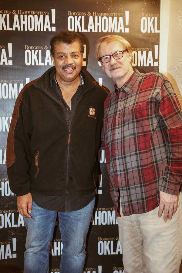 Neil deGrasse Tyson and Mitch Tebo Photo
