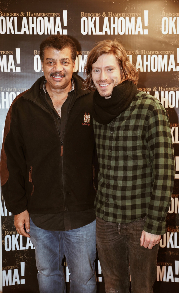 Neil deGrasse Tyson and Patrick Vaill Photo