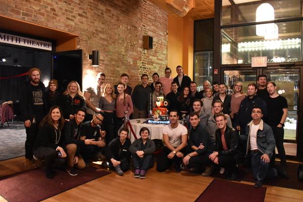 Photo Flash: JERSEY BOYS Tour Celebrates 5,000 Performances