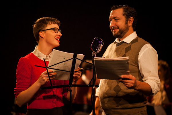 Elaina Henderson and Guy Wicke as Max Forthright