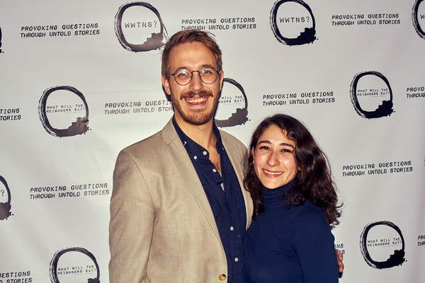 Sam Hood Adrain and Katherine Guanche  Photo