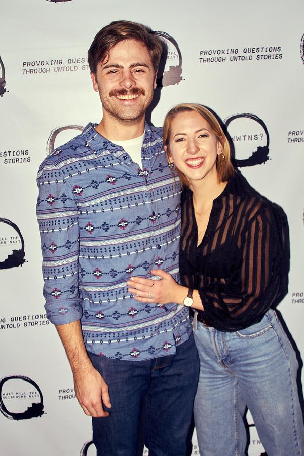 Will Davis and Ana Cristina da Silva Photo