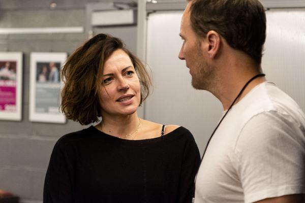 Dagmara Dominczyk and Patrick Wilson Photo