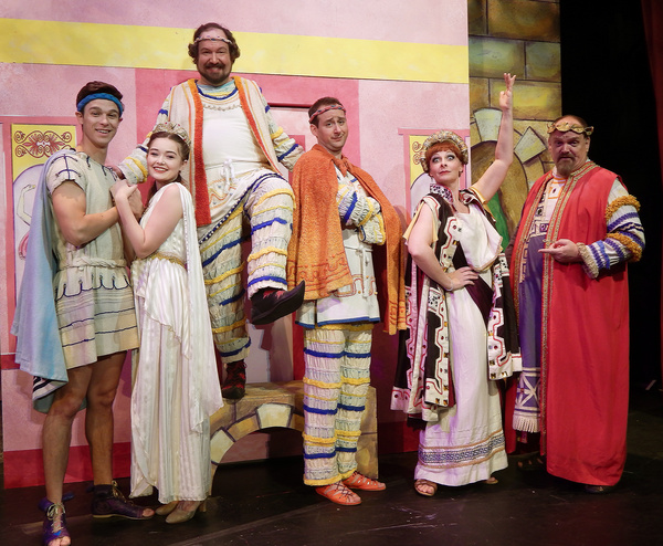 Photo Flash: First Look at A FUNNY THING HAPPENED ON THE WAY TO THE FORUM at The Kravis Center