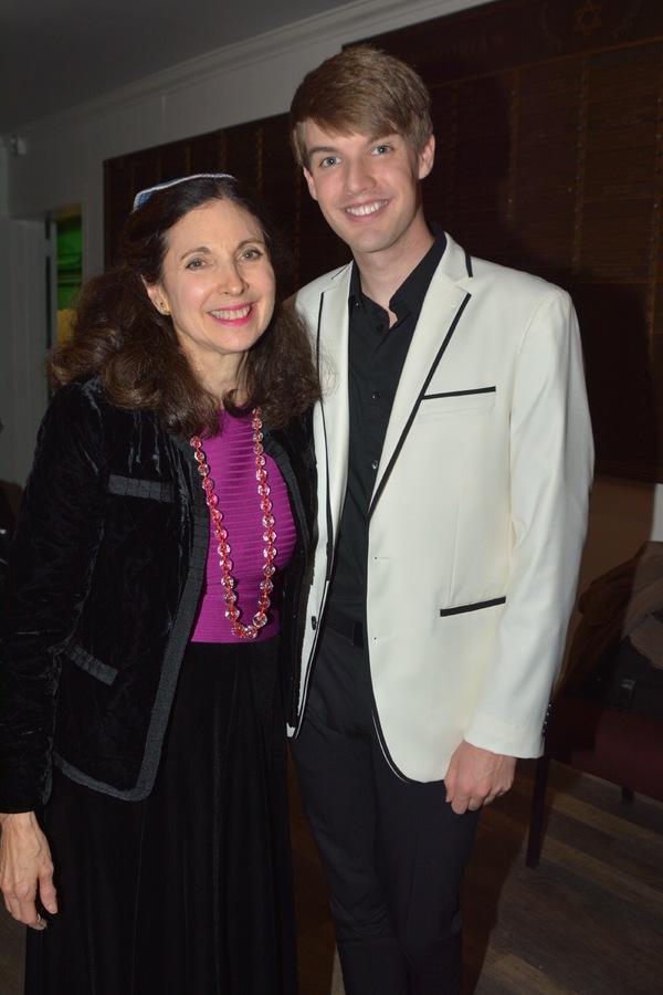 Rabbi Jill Hausman and Mark William Photo