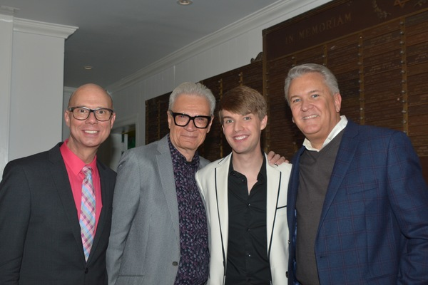 Richie Ridge, Preston Ridge, Mark William and Richard Hillman Photo