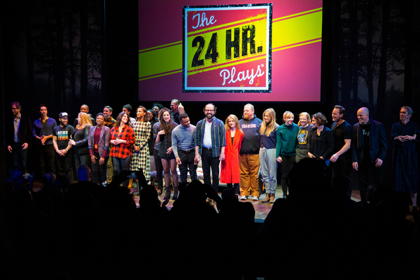 Photo Coverage: Go Inside the THE 24 HOUR PLAYS with Kathy Bates, Jesse Eisenberg & More