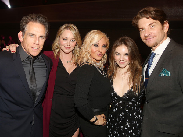 NEW YORK, NEW YORK - NOVEMBER 18: (EXCLUSIVE COVERAGE) (L-R) Honoree Ben Stiller, Chr Photo