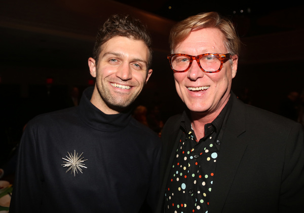 NEW YORK, NEW YORK - NOVEMBER 18: Sam Pinkleton and Robert LaFosse pose at the 2019 R Photo