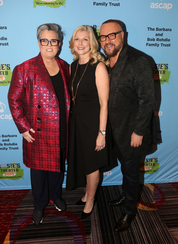 NEW YORK, NEW YORK - NOVEMBER 18: (L-R) Rosie O'Donnell, Honoree ASCAP's Beth Matthew Photo