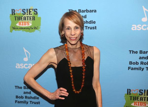 NEW YORK, NEW YORK - NOVEMBER 18 Lori Klinger poses at the 2019 Rosie's Theater Kids  Photo
