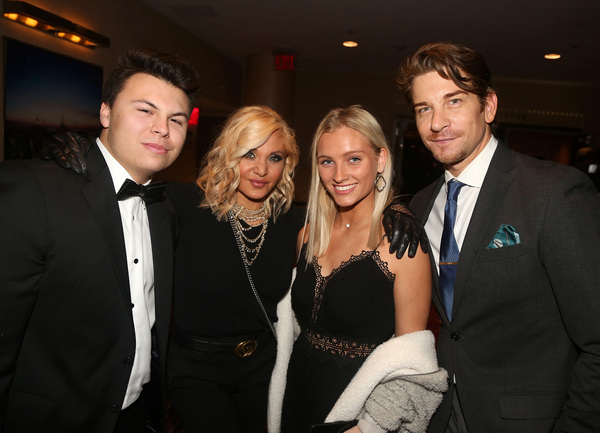 NEW YORK, NEW YORK - NOVEMBER 18: (EXCLUSIVE COVERAGE) (L-R) Blake O'Donnell. Orfeh,  Photo