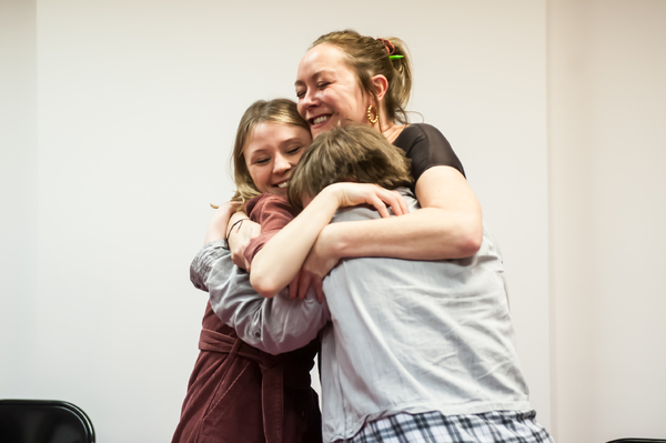 Photo Flash: Inside Rehearsal For MARTHA, JOSIE, AND CHINESE ELVIS at Park Theatre