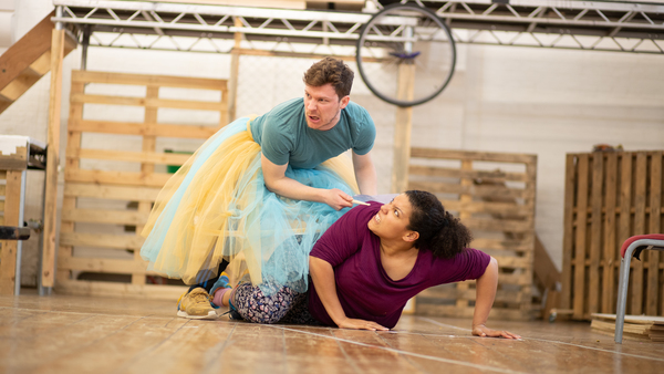 Photo Flash: Inside Rehearsal For THE SNOW QUEEN at Park Theatre