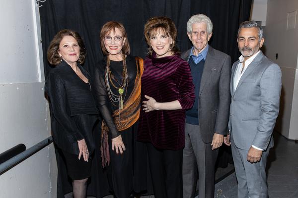 Linda Lavin, Michele Lee, Charles Busch, Tony Roberts, Anil Kumar Photo