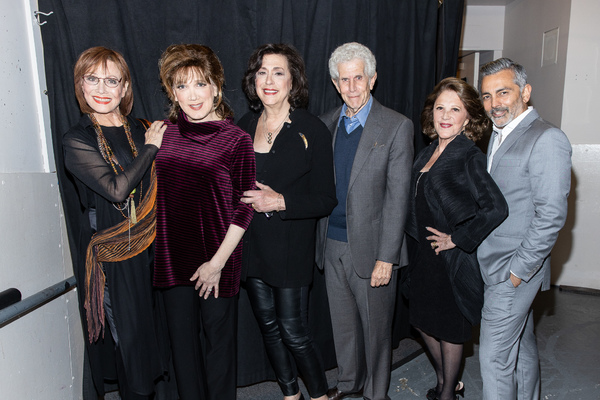 Michele Lee, Charles Busch, Lynne Meadow, Tony Roberts, Linda Lavin, Anil Kumar Photo