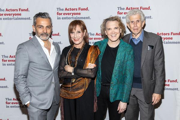 Anil Kumar, Michele Lee, Charles Busch, Tony Roberts Photo