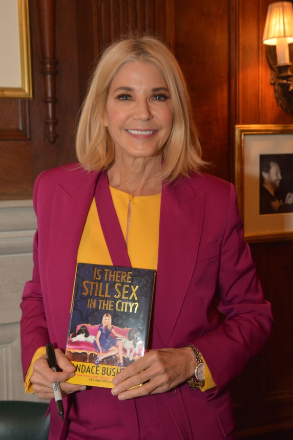 Photo Coverage: Candace Bushnell Talks at The Friars Club About Her New Book 'Is There Still Sex In the City?'