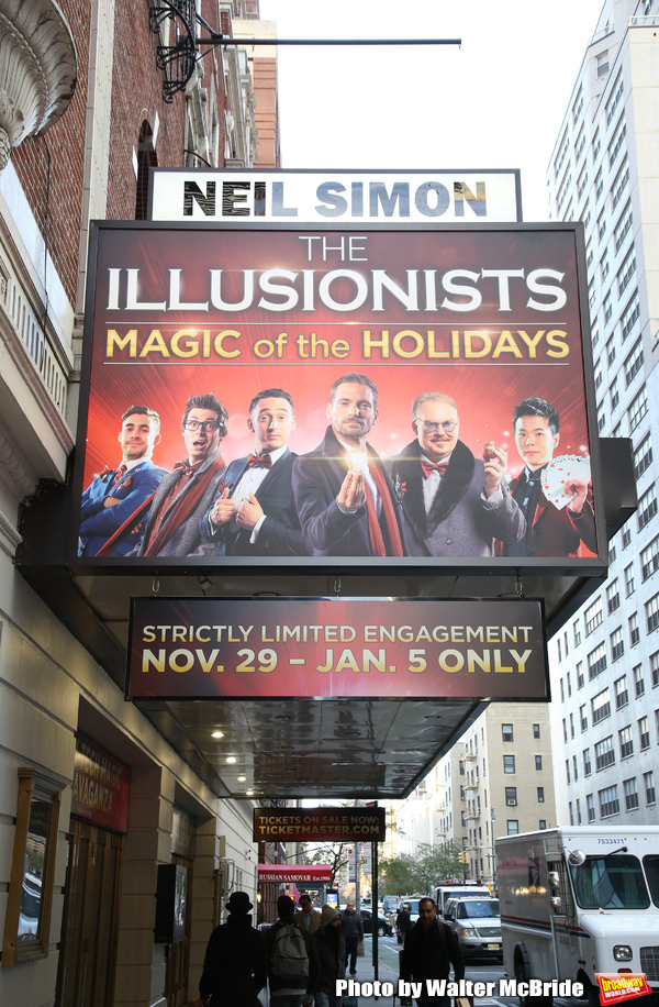 Up On The Marquee: THE ILLUSIONISTS - MAGIC OF THE HOLIDAYS Returns to Broadway