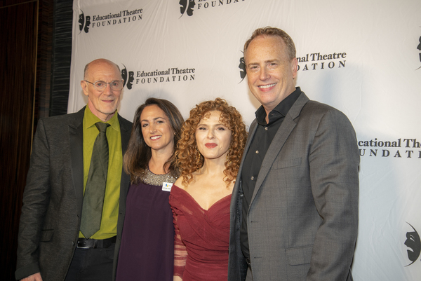 Neil Meron, Julie Cohen Theobald, Bernadette Peters, Bob Greenblatt Photo