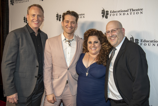 Bob Greenblatt, Matthew Morrison, Marrissa Winnouker, Mark Kaufman Photo