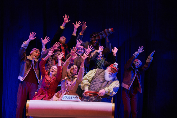 Photo Flash: First Look Into Aurora Theatre's CHRISTMAS CANTEEN