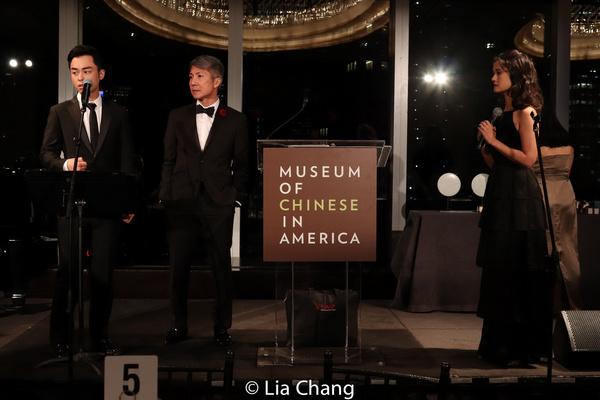 Jonny Lee, Jr., Jason Ma and Ali Ewoldt Photo