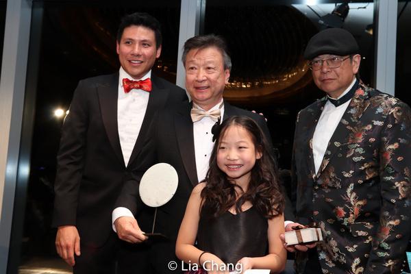 Jonathan Chu, Tzi Ma, Olivia Chan and Corky Lee Photo