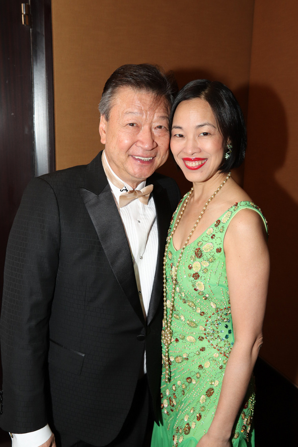 Tzi Ma and Lia Chang Photo
