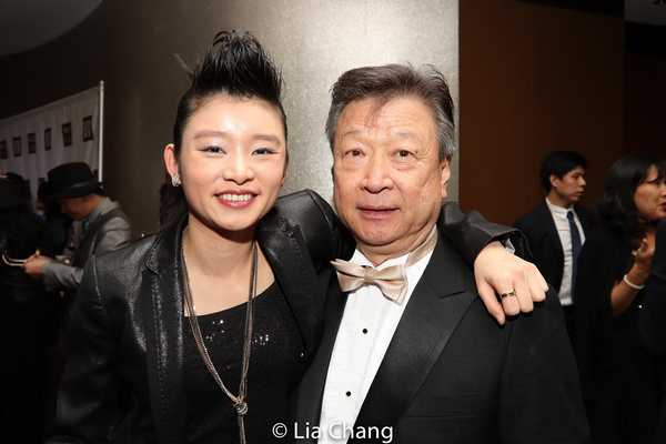 Wu Assassins stars Celia Au and Tzi Ma Photo