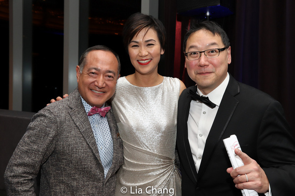 Alan Muraoka, Cindy Cheung and Ed Lin Photo