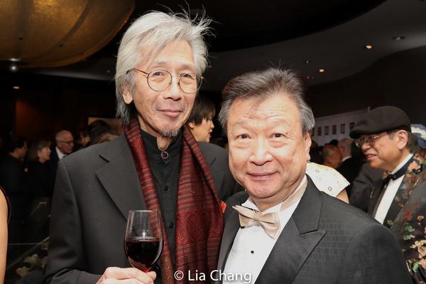 Geoff Lee and Tzi Ma Photo