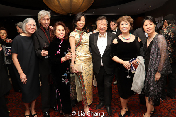 June Jee, Geoff Lee, May Mui, Rozina Leung, Tzi Ma, Chung Seto and Nancy Chu Photo