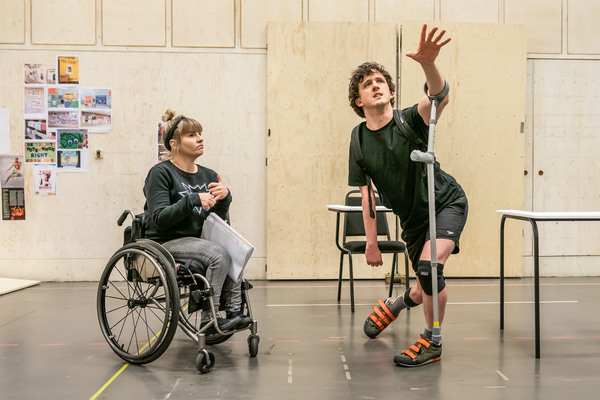Ruth Madeley and Daniel Monks Photo