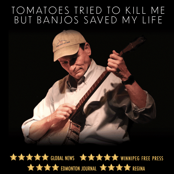 See the Award-Winning, One-Man Show TOMATOES TRIED TO KILL ME BUT BANJOS SAVED MY LIFE Off-Broadway