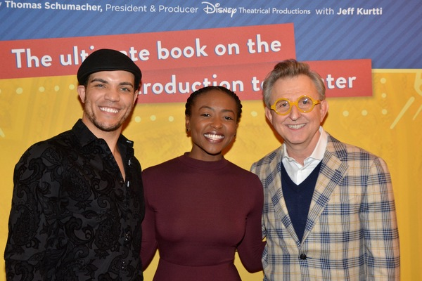 Stanley Martin, Aisha Jackson and Thomas Schumacher Photo