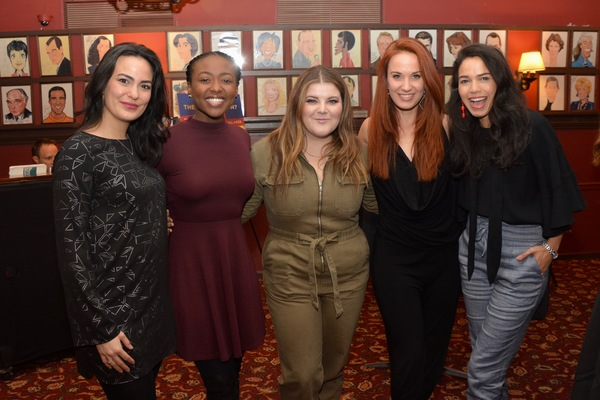 Alyssa Fox, Aisha Jackson, Ryann Redmond, Sierra Boggess and Ariele Jacobs