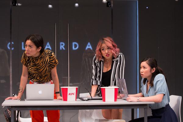Jody Doo, Diana Huey, and Resa Mishina  Photo