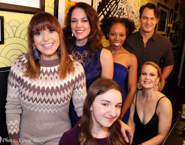 Jessica Vosk, Georgia Stitt, Andrea Jones Sojola, Matt Bogart, Molly Brown, Kate Bald Photo