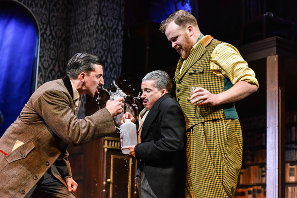 Photo Flash: First Look at the New Cast of THE PLAY THAT GOES WRONG at the Duchess Theatre