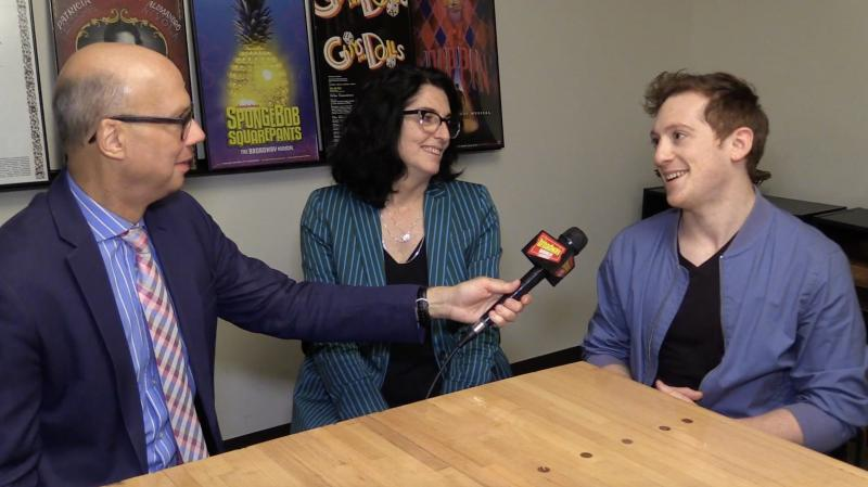 BWW Exclusive: SPONGEBOB'S Ethan Slater and Tina Landau Tease Why Saturday Will Be Nickelodeon's Best Day Ever!