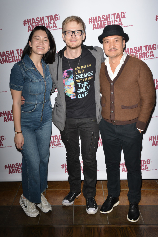 Isa Briones, Anthony Fedorov, Jon Jon Briones Photo