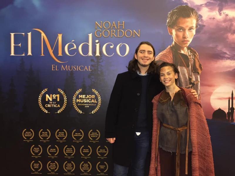 PHOTO FLASH: Adam Thomas Wright visita EL MEDICO en Madrid