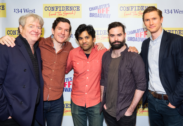 Marc Coffin, James Penca, Imran Shiekh, Stephen Stout, and Ross Alden  Photo