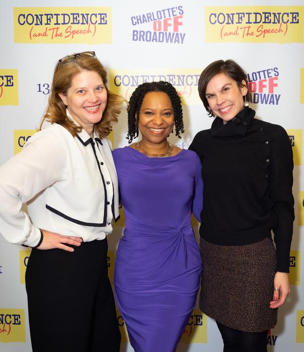 Susan Lambert Hatem, April Armstrong, and Hannah Ryan   Photo