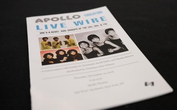 Photo Flash: Apollo Theater Celebrates Classic Girl Groups With Martha Reeves, Sarah Dash, & Joshie Jo Armstead