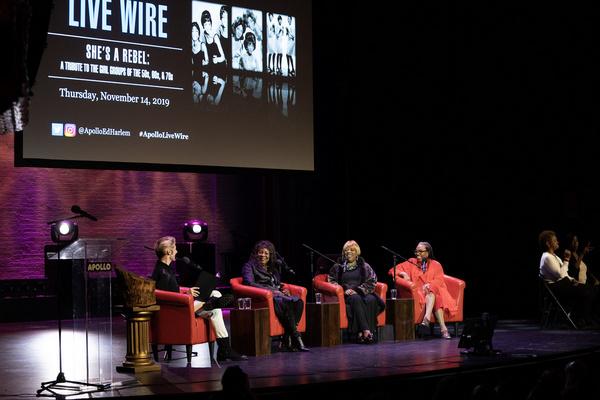 Christian John Wikane,  Martha Reeves, Sarah Dash, and Joshie Jo Armstead  Photo